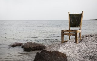 chair at beach