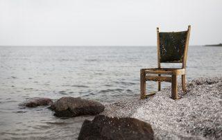 chair at beach