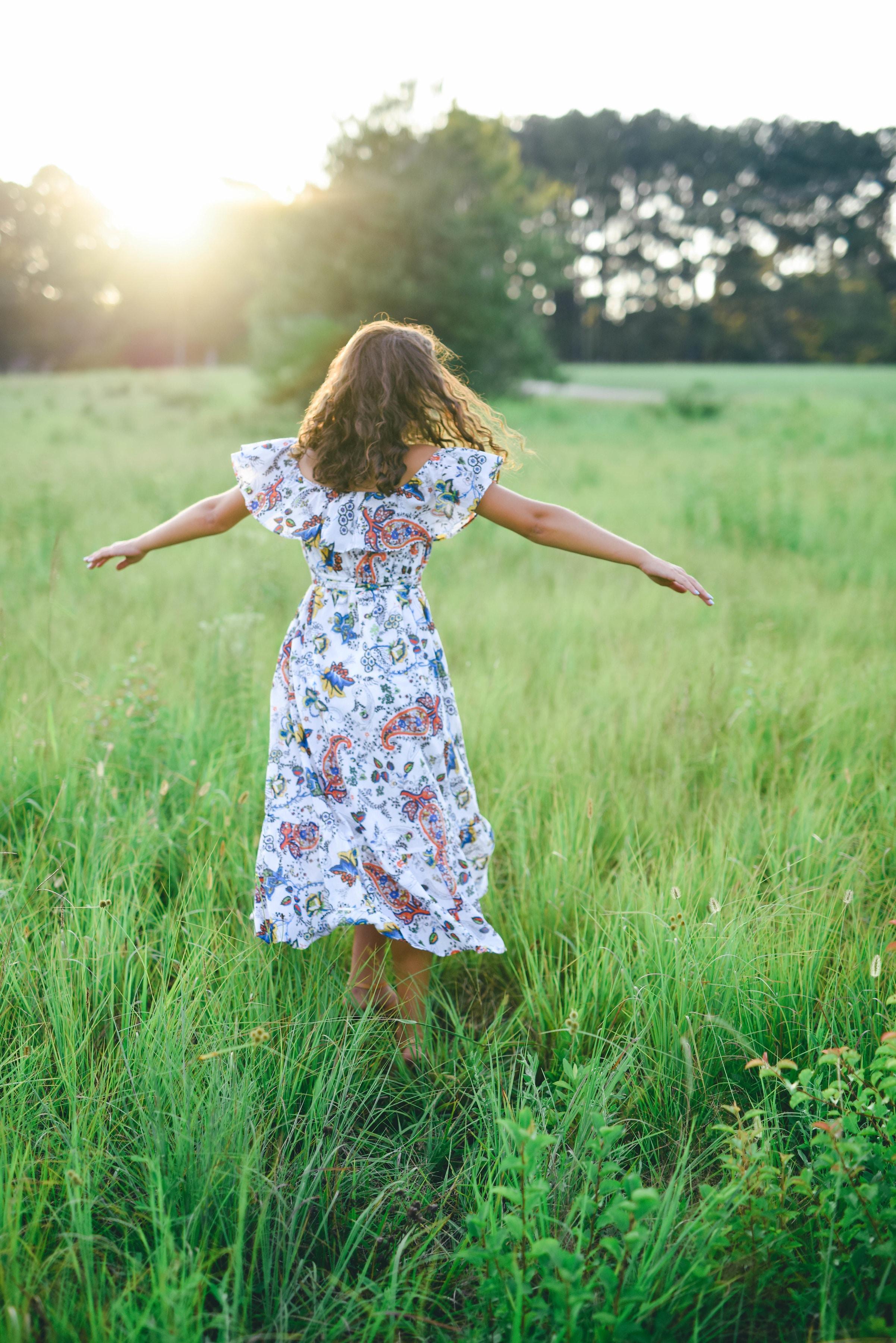 wild woman dancing