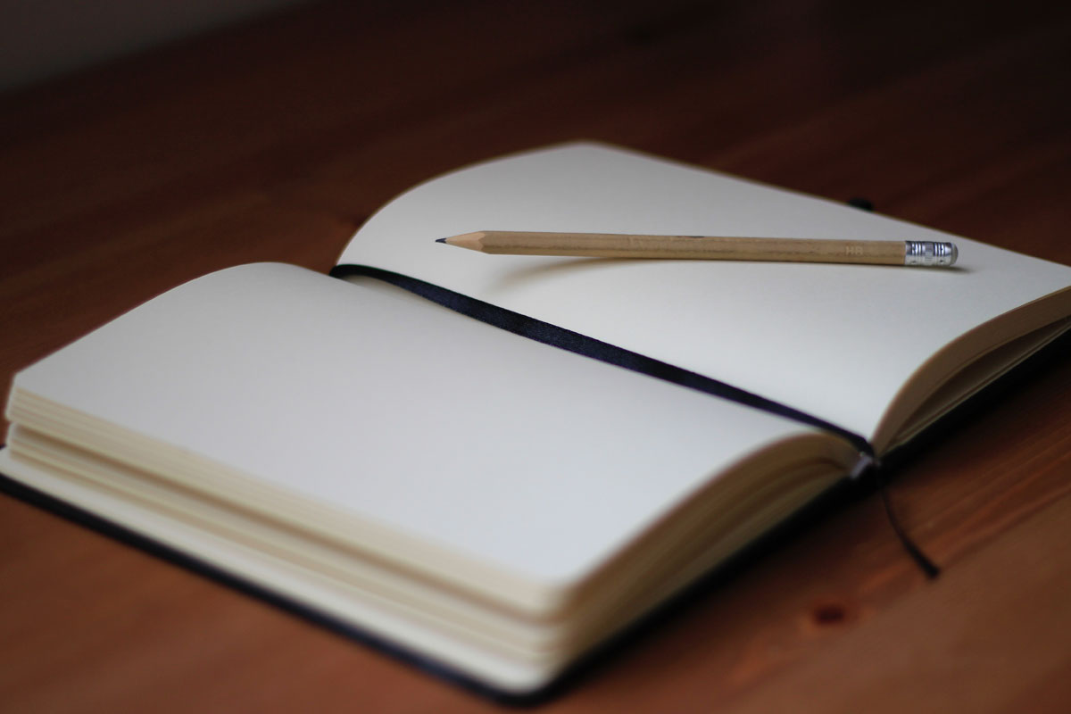 image of person learning how to journal